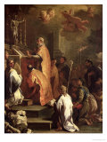 The Mass of St. Gregory Giclee Print by Luca Giordano