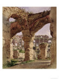 The Colosseum, Rome, 1835 Giclee Print by Rudolph von Alt