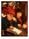 The Money Lenders Giclee Print by Jan Anthonisz. van Ravestyn