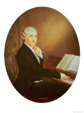 Joseph Haydn circa 1795 Reproduction proc&#233;d&#233; gicl&#233;e par Johann Zitterer