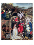 Nativity, circa 1425 Giclee Print by  Master of Flemalle