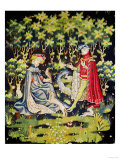 Arras Tapestry, Offering of the Heart Giclee Print
