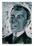 Portrait of the Poet Ossip Mandelstam (1891-1938) Giclee Print by Lev Aleksandrovitc Bruni