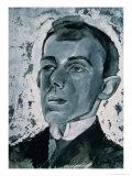 Portrait of the Poet Ossip Mandelstam (1891-1938) Giclee Print by Lev Aleksandrovitc Bruni