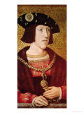 Portrait of Charles V (1500-1558) Giclee Print by Bernard van Orley