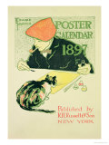 Poster Calendar, Pub. by R.H. Russell & Son, 1897 Giclee Print by Edward Penfield