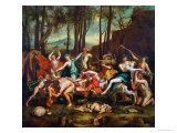 The Triumph of Pan Giclee Print by Nicolas Poussin