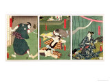 The Actors Ichikawa Kodanji IV as the Ghost of Koheiji Giclee Print by Utagawa Kunisada