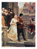 Call to Arms, 1888 Reproduction proc&#233;d&#233; gicl&#233;e par Edmund Blair Leighton