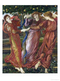 Garden of the Hesperides, 1869-73 Giclee Print by Edward Burne-Jones