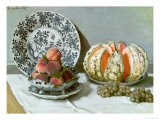 Still Life, circa 1876 Giclee Print by Claude Monet