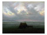 Waft of Mist, circa 1818-20 Gicléedruk van Caspar David Friedrich