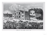 The Siege of the Alamo, 6th March 1836, from Texas, an Epitome of Texas History, 1897 Premium Giclee Print