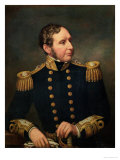 Vice Admiral Robert Fitzroy (1805-65) Admiral Fitzroy Led the Expedition to South America 1834-36 Giclee Print by Samuel Lane