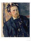 Portrait of Joachim Gasquet (1873-1921) 1896-97 Reproduction procédé giclée par Paul Cézanne