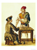 Venetian Tattooer Reproduction proc&#233;d&#233; gicl&#233;e par Jan van Grevenbroeck