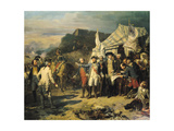 Siege of Yorktown, 17th October 1781, 1836 Giclee Print by Louis Charles Auguste Couder