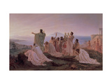 Pythagoreans' Hymn to the Rising Sun, 1869 Giclee Print by Fedor Andreevich Bronnikov