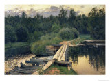 At the Shallow, 1892 Premium Giclee Print by Isaak Ilyich Levitan