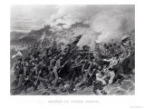 Battle of Cerro Gordo, April 1847 Giclee Print by Alonzo Chappel