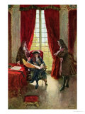 La Salle Petitions the King for Permission to Explore the Mississippi Giclee Print by Howard Pyle