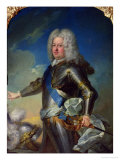 Portrait of Stanislas Lesczinski (1677-1766) King of Poland Giclee Print by Jean-Baptiste van Loo