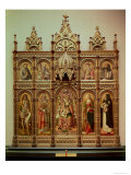 The Demidoff Altarpiece, 1476 Giclee Print by Carlo Crivelli