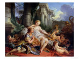 Rinaldo and Armida, 1733 Giclee Print by Francois Boucher