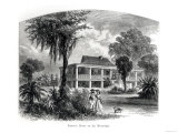 Planter's House on the Mississippi, Engraved by J.H. Ellawell Giclee Print