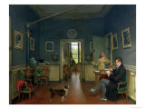 Interior of a Dining Room, 1816 Giclee Print by Martin Drolling
