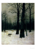Wood in Winter, 1885 Premium Giclee Print by Isaak Ilyich Levitan