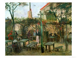 Pleasure Gardens at Montmartre, c.1886 Giclee Print by Vincent van Gogh
