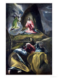 Christ in the Garden of Olives Premium Giclee Print by  El Greco