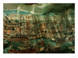 Allegory of the Battle of Lepanto Giclee Print by Paolo Veronese