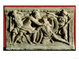 Battle Scene from a Cinerary Urn, Etruscan Giclee Print