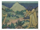 Nudes in Dunes, circa 1919-20 Giclee Print by Otto Mueller