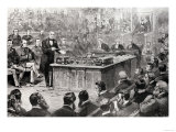 The House of Commons on Thursday April 8th: the Debate on the Government of Ireland Giclee Print