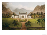 Bonaparte's Mal-Maison at St. Helena, 1821 Giclee Print by John Hassell