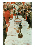A Banquet to Genet, Illustration from Washington and the French Craze of '93 by John Bach Mcmaster Giclee Print by Howard Pyle
