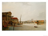 Westminster Bridge Giclee Print by Daniel Turner