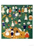 Children, 1908 Giclée-tryk af Kasimir Malevich