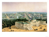 View of Washington, Pub. by E. Sachse & Co., 1852 Giclee Print