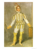 "John Pritt Harley (1786-1858) as Pedrillo in ""The Castle of Andalusia"" by John O""Keeffe Giclee Print by Samuel de Wilde"