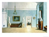 Neo-Classical Interior, circa 1820 Giclee Print by Fedor Petrovich Tolstoy