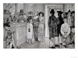 Women at the Polls in New Jersey Giclee Print by Howard Pyle