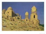 Hazreti Shakh-I-Zindeh Mausoleum in Samarkand, 1869-70 Giclee Print by Nikolai Stepanovich Vereshchagin
