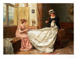 The Wedding Dress Giclee Print by George Goodwin Kilburne