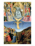 The Last Judgement, Central Panel from a Triptych Giclee Print by  Fra Angelico