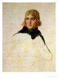 Unfinished Portrait of General Bonaparte (1769-1821) circa 1797-98 Reproduction giclée Premium par Jacques-Louis David