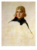 Unfinished Portrait of General Bonaparte (1769-1821) circa 1797-98 Giclee Print by Jacques-Louis David